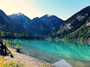 Runners will pass by Kinney Lake on the half marathon and full marathon routes.